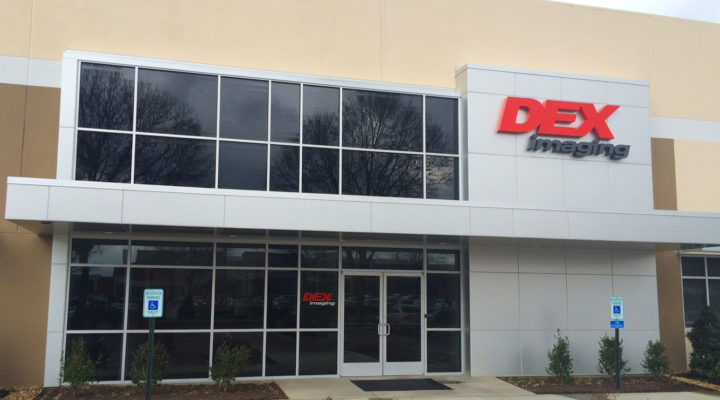 DEX Imaging Branch Office: Memphis, TN Front Entrance