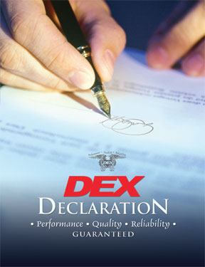 The DEX Declaration