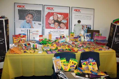 DEX Imaging School Supply Drive