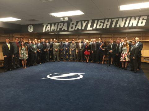 Tampa Bay Lightning DEX Imaging Sponsorship - Staff Picture