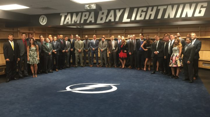 Tampa Bay Lightning DEX Imaging Sponsorship - Staff Picture