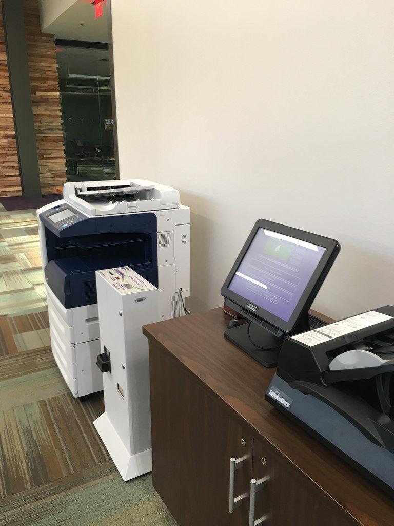 Office Print Station