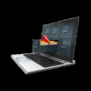 DEXDOX laptop filing cabinet