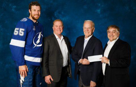 Doyles Community Heroes Acceptance - Tampa Bay Lightning