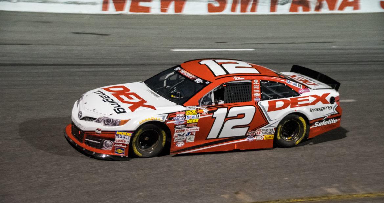 Harrison Burton #12 DEX Imaging Camry, New Smyrna Speedway