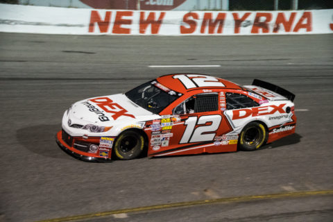 Harrison Burton #12 DEX Imaging Camry, New Smyrna Speedway