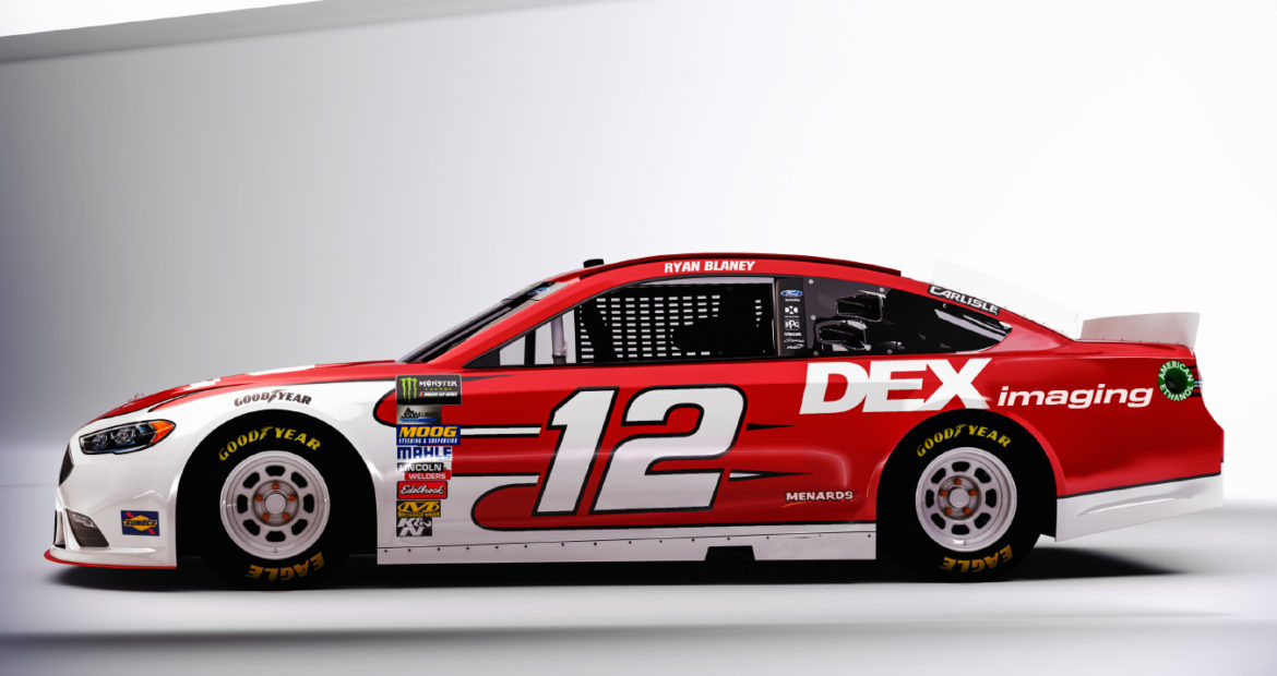 Ryan Blaney DEX Imaging 2019 Hero Card